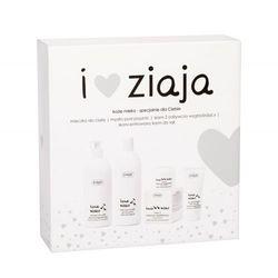 Ziaja Goat´s Milk zestaw Kremowe mydło pod prysznic 500 ml + Mleczko do ciała 400 ml + Krem na dzień 50 ml + Krem do rąk 50 ml dla kobiet