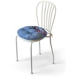 Dekoria Siedzisko Adam na krzesło, samochody na niebieskim tle, fi37x8cm, Freestyle do -30%