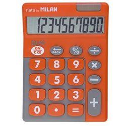 Kalkulator MILAN Kalkulator 10 pozycyjny Touch Duo pomarańczowy - WIKR-957375 Darmowy odbiór w 21 miastach!