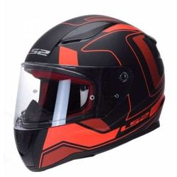 KASK MOTOCYKLOWY KASK LS2 FF353 CARRERA MATT BLACK RED Nowość 2019!