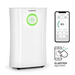 Klarstein DryFy Pro Connect, osuszacz powietrza, Wi-Fi, kompresja, 20 l/24 h, 20 m2, 370 W, kolor biały