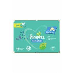 Chusteczki mokre Pampers 6pak 5O41HJ Oferta ważna tylko do 2031-09-23
