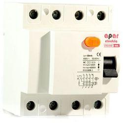 300mA 40A 4P Wyłącznik różnicowoprądowy APAR ELECTRIC