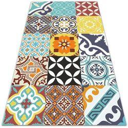 Nowoczesny dywan tarasowy Nowoczesny dywan tarasowy Mix kolorowych wzorów