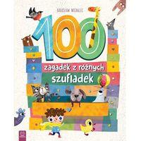 Książki dla dzieci, 100 zagadek z różnych szufladek - Praca zbiorowa (opr. broszurowa)