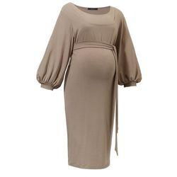 ubrania ciążowe Sukienka ciążowa Trili Cappuccino Piękny Brzuszek