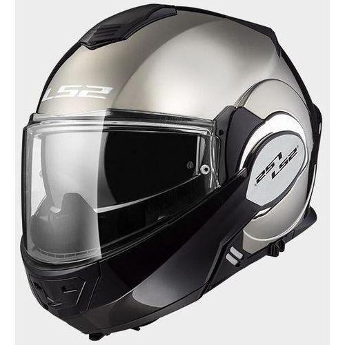 Kaski motocyklowe, KASK LS2 FF399 VALIANT SOLID CHROME