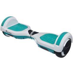 Elektryczna deskorolka SKYMASTER Wheels 6 Dual Smart Biało-miętowy