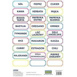 Naklejki Przyprawy (kolorowe)