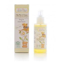 Oliwka, olejek do ciała z olejem z rolnictwa ekologicznego, bez PEG, parafiny i silikonu 100 ml Baby Anthyllis, Pierpaoli