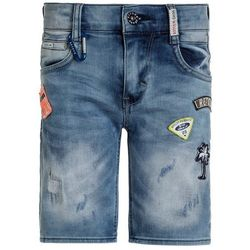 Retour Jeans ROB Szorty jeansowe medium blue denim