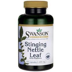 Swanson Pokrzywa (Nettle Leaf) 400mg 120 kaps.
