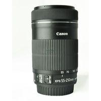 Obiektywy fotograficzne, Canon EF-S 55-250MM 4-5.6 IS II 5123B005BA DARMOWA DOSTAWA DO 400 SALONÓW !!