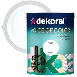 Farba Dekoral Voice of Color mleczna pianka 5 l