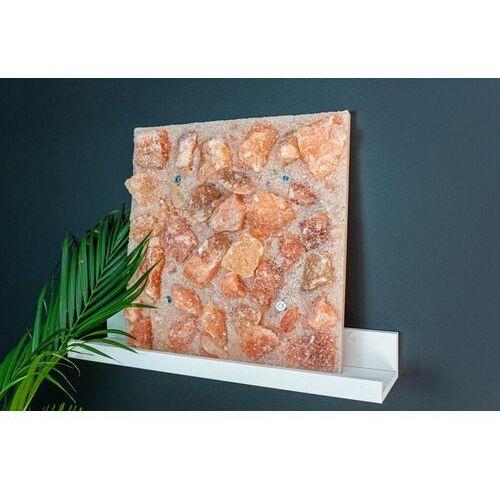 Pozostały wystrój ścian, Panel solny do sauny saltino różowa 40x40