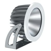 Naświetlacze zewnętrzne, Reflektor naświetlacz halogen 20W MILOO Sway LED
