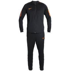 Nike Performance DRY SQAD SUIT Dres black/black/cone/cone