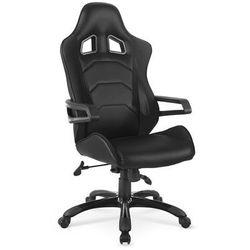 Fotel dla gracza gamingowy HALMAR DORADO czarny