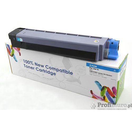 Tonery i bębny, Toner CW-O801CN Cyan do drukarek OKI (Zamiennik OKI 44643003) [7.3k]