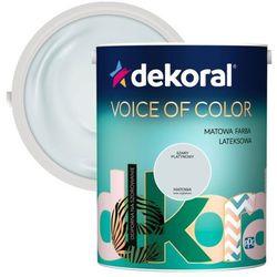 Farba Dekoral Voice of Color szary platynowy 5 l