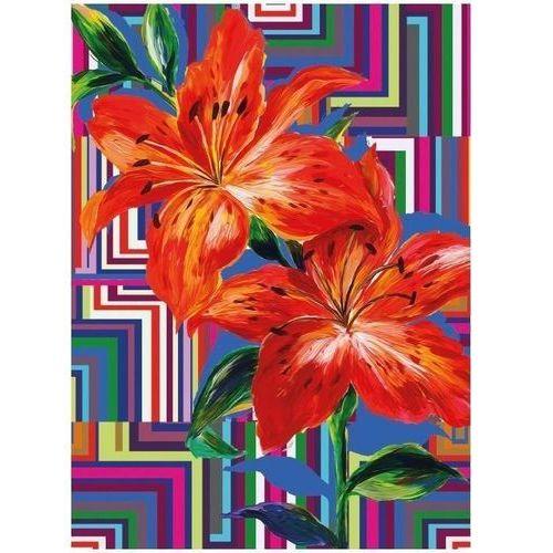 Pozostałe artykuły szkolne, Karnet B6 z kopertą Floral Maze
