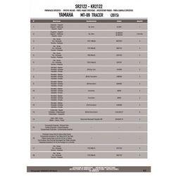 KAPPA KR2122 STELAŻ Centralny YAMAHA MT-09 TRACER (15)
