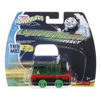Pojazdy bajkowe dla dzieci, Tomek i Przyjaciele Lokomotywki ze światełkami, Percy