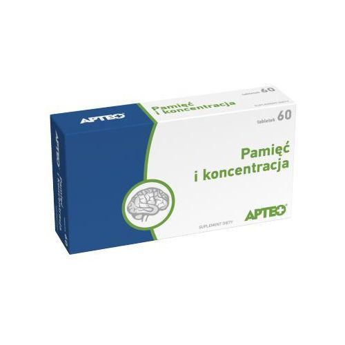Leki na krążenie, PAMIĘĆ I KONCENTRACJA Apteo x 60 tabletek