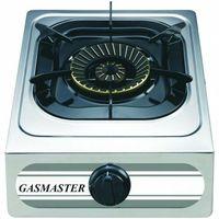 Piece i płyty grzejne gastronomiczne, Kuchenka gazowa 1 palnikowa z zabezpieczeniem Gasmaster 1-13SRBP