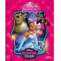 Bajki, Disney Księżniczka. Księżniczka i żaba [Blu-ray]