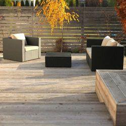 Deska tarasowa drewniana Blooma 3000 x 140 x 24 mm modrzew syberyjski