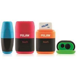 Temperówka pojedyńcza z gumką Milan Touch 4706116