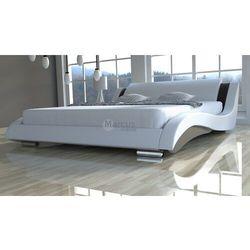 Zestaw łóżko STILO 2 LUX SLIM z materacem kieszeniowym