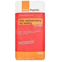 Klej uniwersalny do wełny mineralnej i siatki TERMO ORGANIKA TO-KWU 25kg