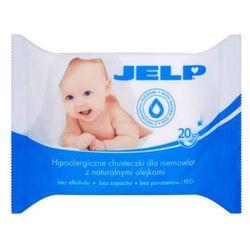 Chusteczki dla niemowląt JELP Hipoalergiczne 20 sztuk