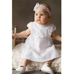 Sukienka niemowlęca do chrztu 6K40C8 Oferta ważna tylko do 2031-05-20