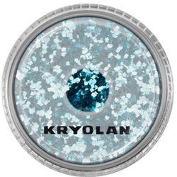 Kryolan POLYESTER GLIMMER COARSE (TURQUOISE) Gruby sypki brokat - TURQUOISE (2901)