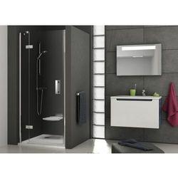 Ravak SmartLine drzwi prysznicowe SMSD2-100b, lewe, Chrom+Transparent 190 cm 0SLABA00Z1