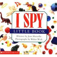 Książki dla dzieci, I spy little book (opr. twarda)