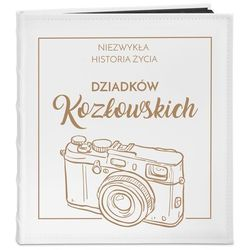 Album Na Zdjęcia GRAWER Retro Aparat Prezent PR454