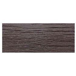 Benco Gumowa płyta do ogrodu Deska, brązowy
