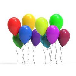 Balony lateksowe pastelowe mix kolorów - 12 cali - 100 szt.