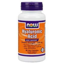 Now Foods Kwas Hialuronowy Hyaluronic Acid 60 kaps.