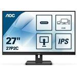 """Monitor AOC 27"""" 27P2C HDMI DP 4xUSB 3.1 USB-C głośniki"""