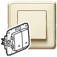 Włączniki, Legrand Cariva Przycisk sterowania roletami krem 773714