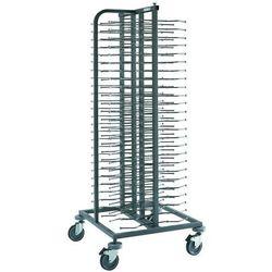Wózek jodełkowy na 100 talerzy, 754x754x1800 mm | EDENOX, CPP-100