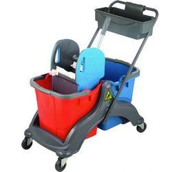 Wózek dwuwiaderkowy Gricard - 2x18L na podstawie ABS