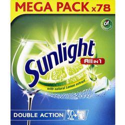 SUNLIGHT All in One Regular 78 szt. – tabletki do zmywarki - BEZPŁATNY ODBIÓR: WROCŁAW!