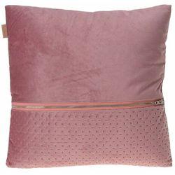 Poduszka Intesi Nelli różowa - różowy