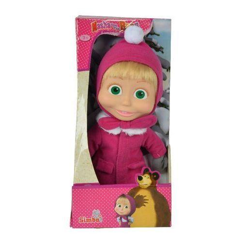 Lalki dla dzieci, Masza i Niedźwiedź Miękka lalka zimowa